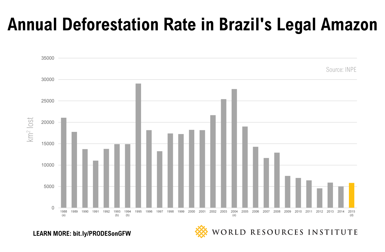 Official Deforestation Data for the Brazilian Amazon Now