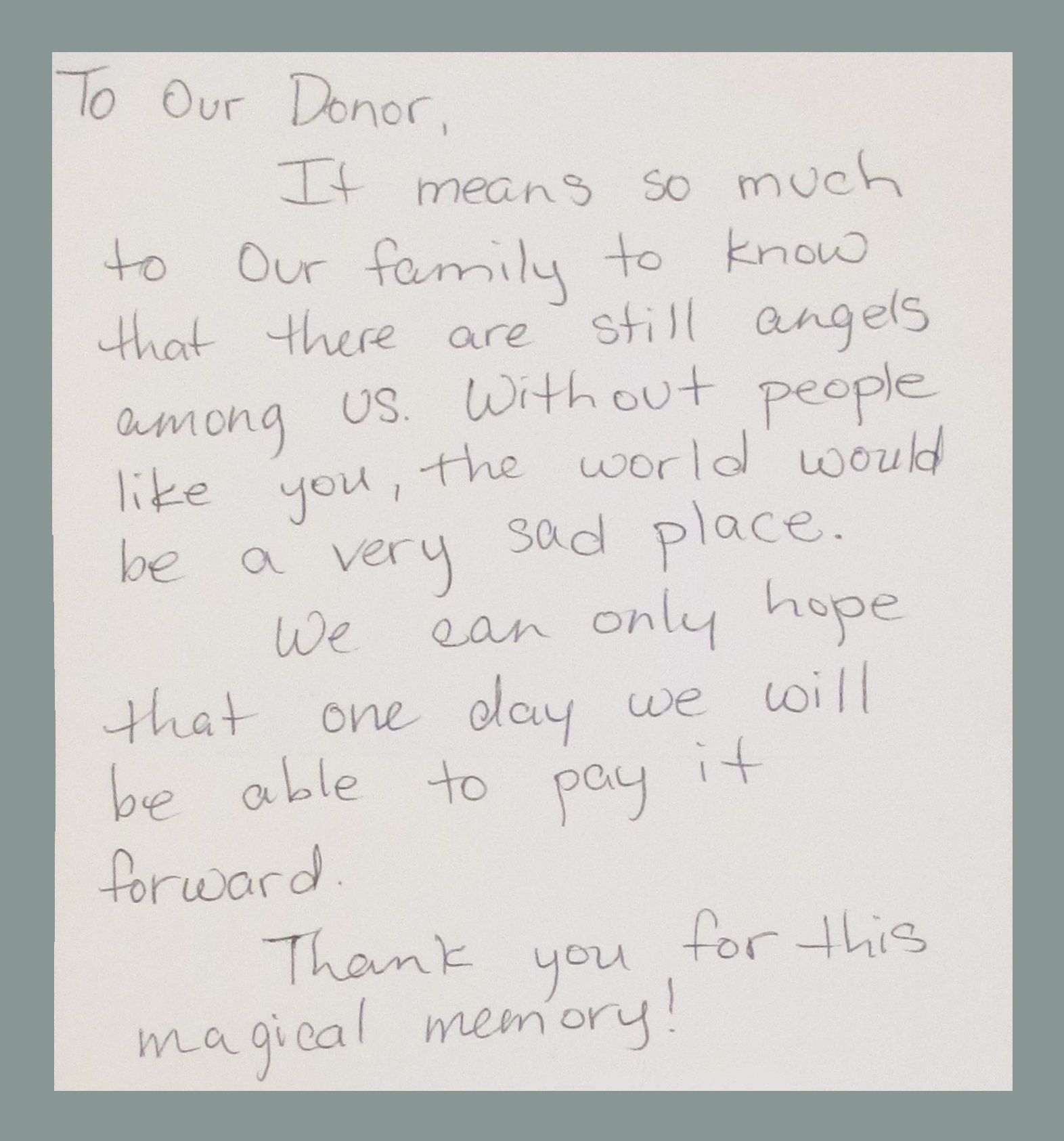 CPCD adopted family thank you letter