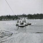 Car Ferry - Trans Canada Highway July 1956