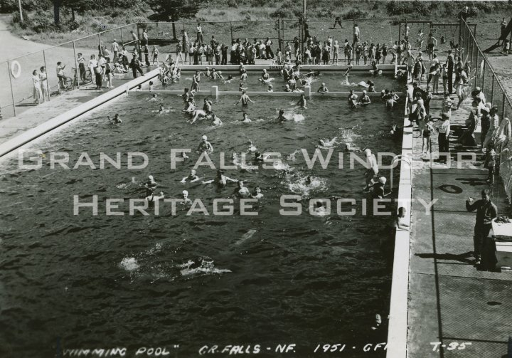 Grand Falls Townsite Swimming Pool