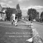Grand Falls Townsite. Mill Road. September 1956
