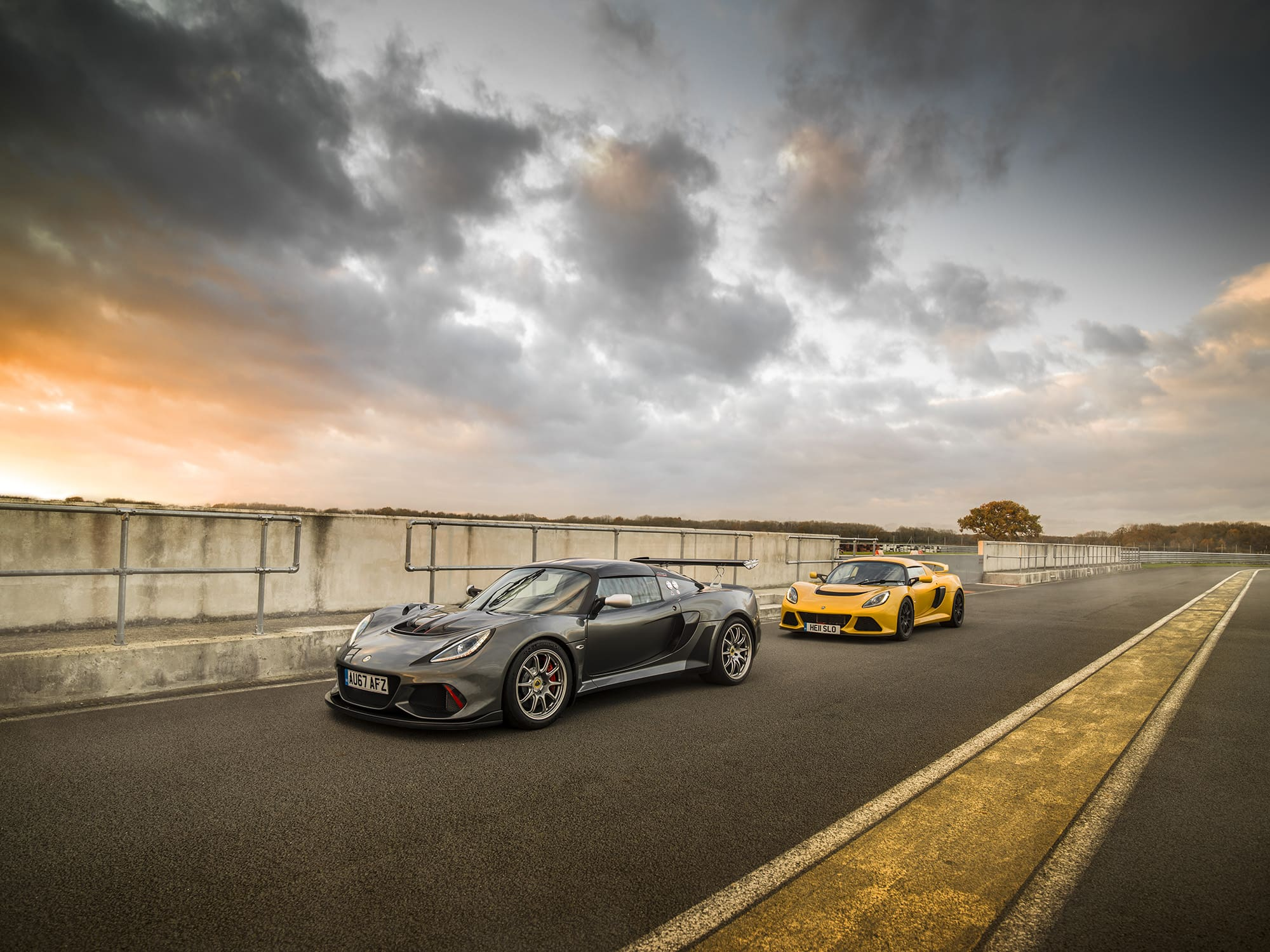 hight resolution of new lotus exige 430 cup driven