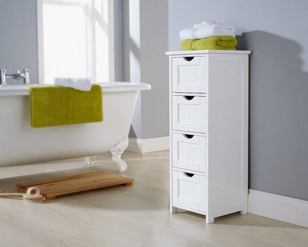 Bathroom Storage Units with Drawers