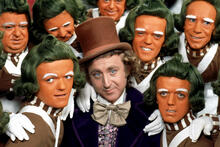 """""""Willy Wonka and the Chocolate Factory"""" in the version for adults.  See a bloody remake of a famous movie"""