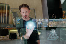 Do you want to call Iron Man?  Marvel gave the phone number to Tony Stark