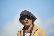 """Johnny Depp officially """"female boxer"""".  The actor lost the libel case"""