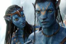 Avatar - Zoe Saldana Sam Worthington - film still