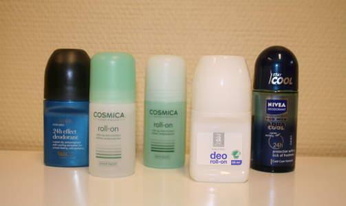 Dette er dei minst farlege deodorantane