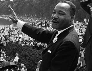 Borgerrettighetsbevegselsens Martin Luther King hadde planer.