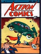 Supermannblad fra 1938 (Foto: ComicConnect.com/Scanpix/Reuters)