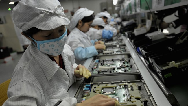 FILES-CHINA-TAIWAN-TECHNOLOGY-FOXCONN-LABOUR FILES-CHINA-TAIWAN-TECHNOLOGY-FOXCONN-LABOUR (Foto: AFP/Afp)