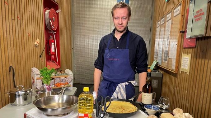 Sjå Anders Grønneberg ete Tix sitt panneband