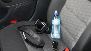 Løse ting i bilen