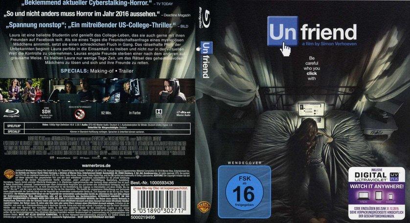 Unfriend: DVD. Blu-ray oder VoD leihen - VIDEOBUSTER.de