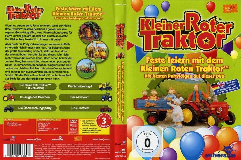 Kleiner roter Traktor - Feste feiern DVD oder Blu-ray