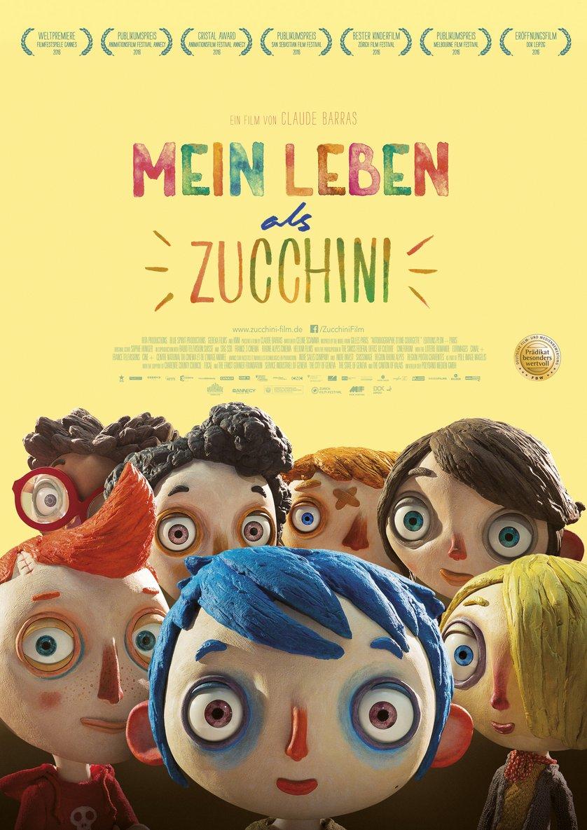 Mein Leben als Zucchini DVD oder Bluray leihen