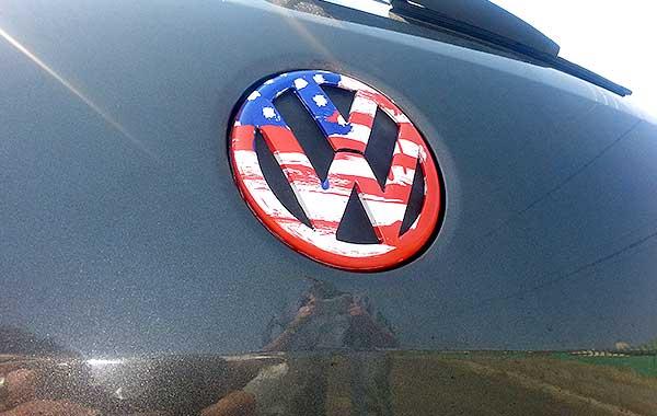 personalised-VW-badge