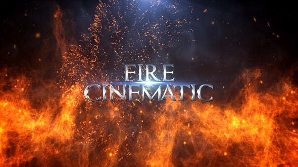 videohive fire cinematic titles free after effects. Black Bedroom Furniture Sets. Home Design Ideas