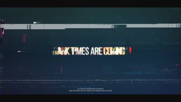 VIDEOHIVE GLITCH LOGO INTRO 25788725
