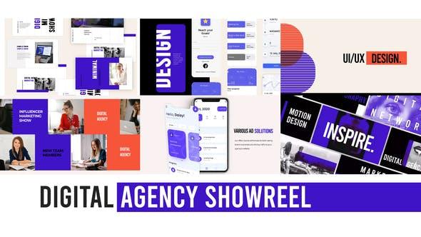 VIDEOHIVE DIGITAL AGENCY WEB SHOWREEL