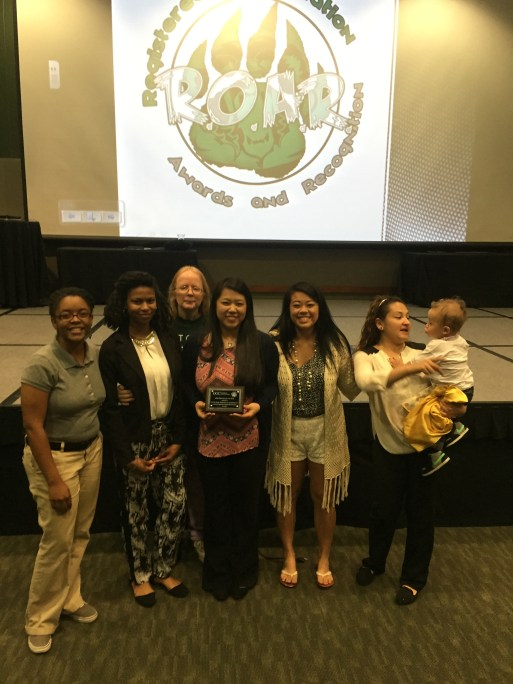 Our VP Genie Yang wins GGC RSO Officer of the Year!
