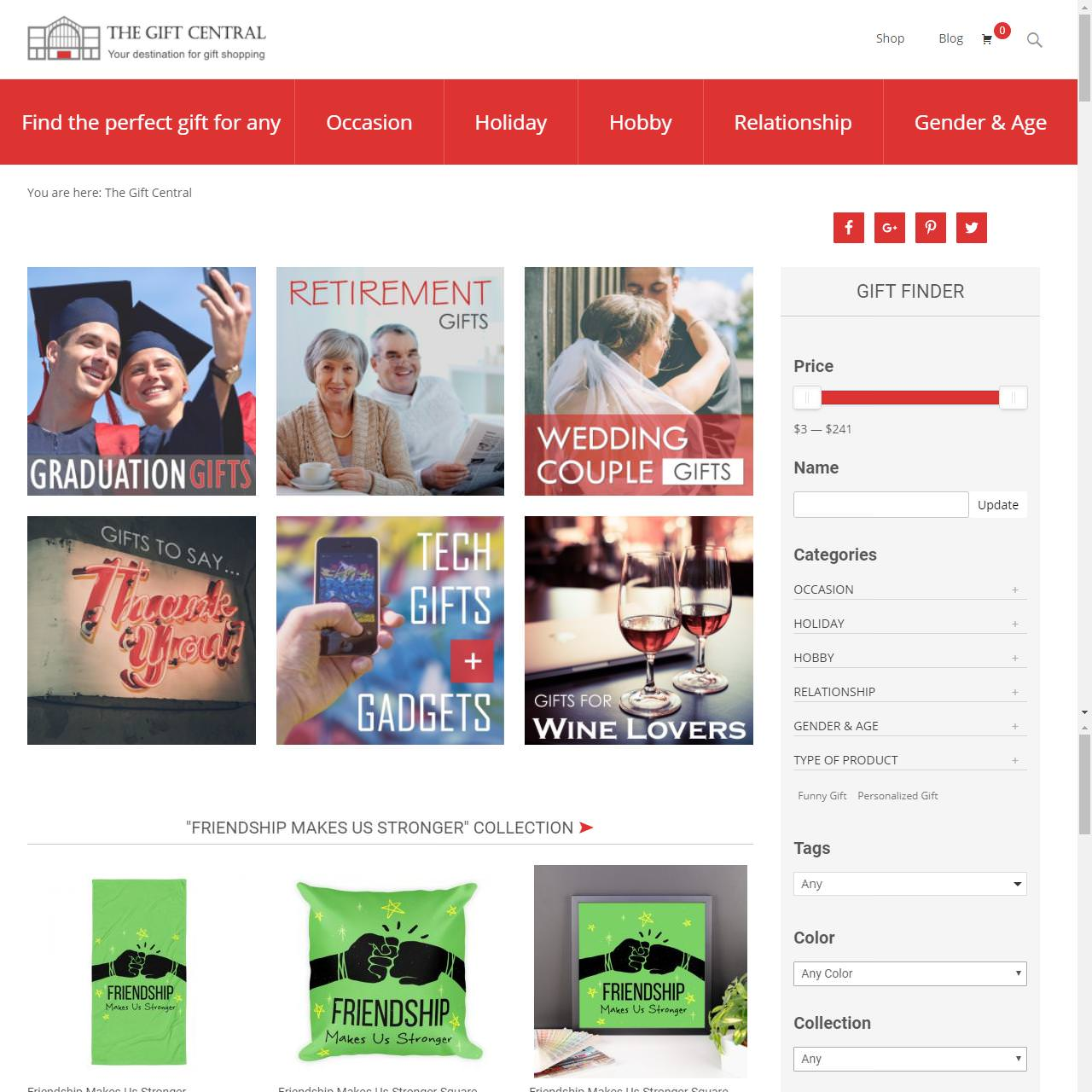webdesign-thegiftcentral_frontpage_cr