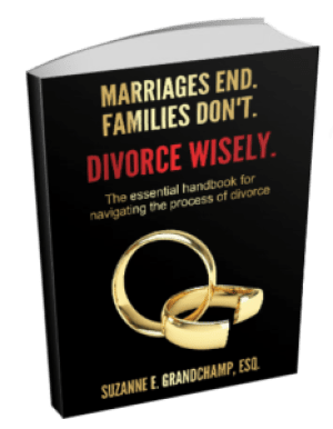 Divorce Wisely Book Suzanne Grandchamp 3D Front Cover
