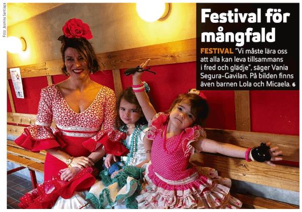Festival för mångfald i Sigtuna