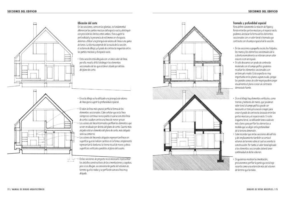 Tecnicas y texturas en dibujo arquitectonico Planos y Dibujos
