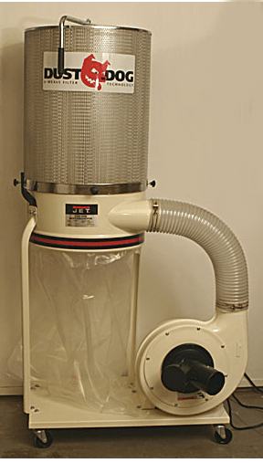 Jet Dust Dog Dust Collector