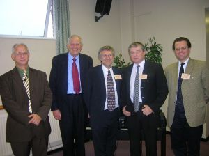 2007 Speakers - Geoff King, Alec Taylor, Chris Hand, Stephen Rees & Martin Grubb