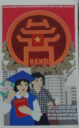 Do well to celebrate 1,000 years. We want the young people to work and study well, to make Hanoi Capital become more modern and civilized, as it is the heart of the whole country, which is becoming 1,000 years old.
