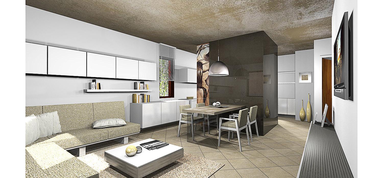Progettazione interni villa  GG progetti