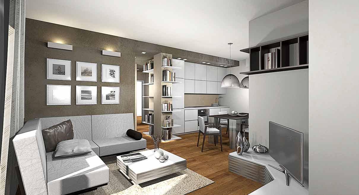 Progettazione arredo appartamenti  GG progetti
