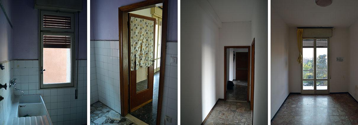 Proposte di diversa distribuzione degli spazi interni. Ristrutturazione Appartamento Bologna Stalingrado Gg Progetti