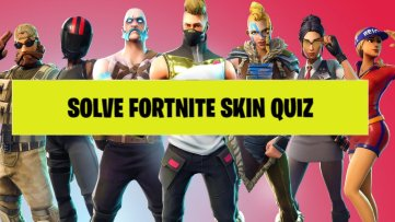 fortnite skin quiz