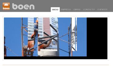 BOEN.COM.AR. Sitio web de la constructora. HTML. http://boen.com.ar/