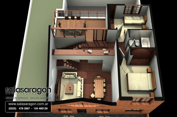 Ampliación con techo bajo 2