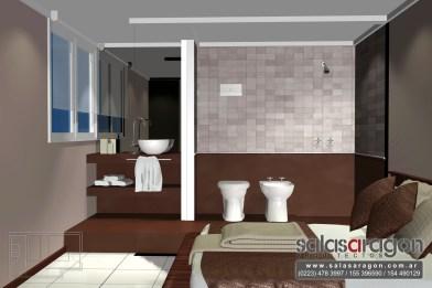 Reciclado baño hotel