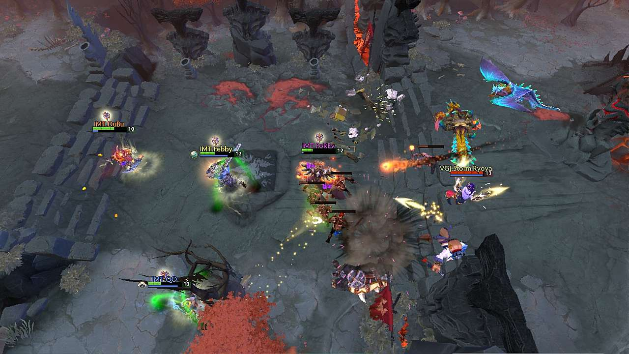 Forev Triple Kill On Legion Commander Vs VGJStorm