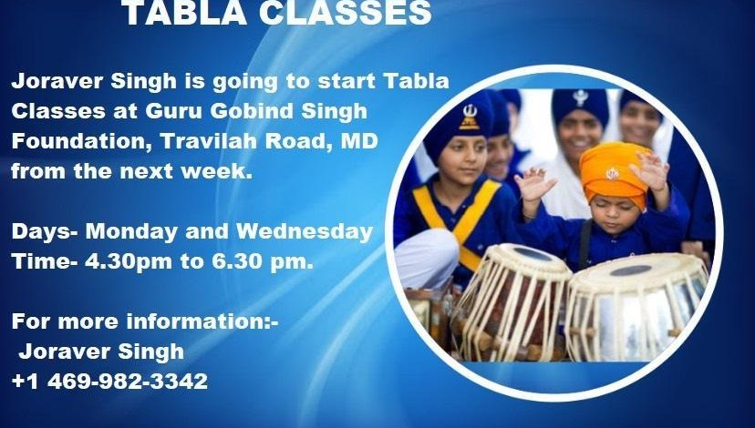 Kirtan Tabla Classes