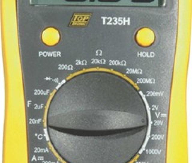Multimeter Toptron Digi Pro T235h