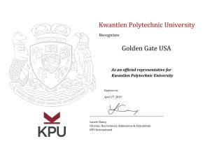 KPU canada