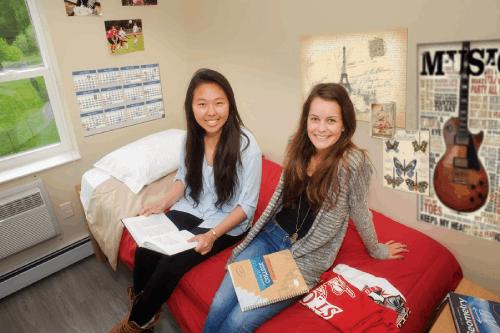 السكن الطلابي في المدارس الداخلية
