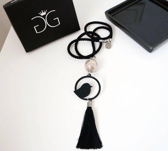 Jewelry Bird pendant necklace GG UNIQUE