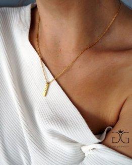 Karma gold colour necklaces GG UNIQUE