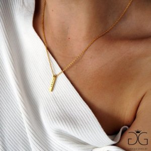Karma gold colour necklaces GG UNIQUE