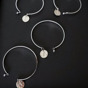 Stainless steel brangle bracelet GG UNIQUE