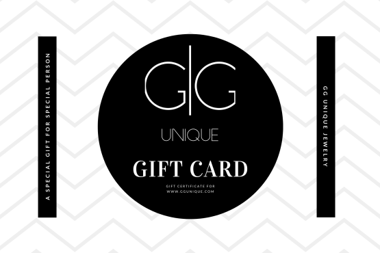 GG UNIQUE GIFT CARD