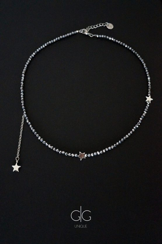 Star necklace from terahertz stone GG UNIQUE